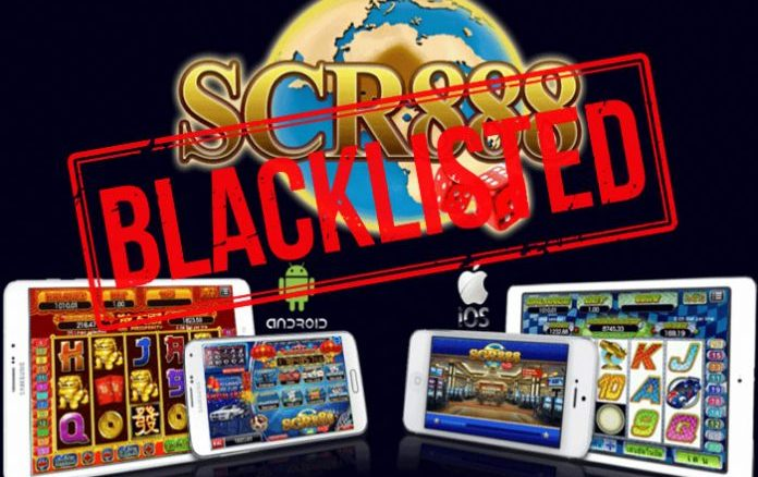 BLACKLISTED SITES FOR SCR888